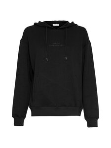 Moss Copenhagen - Ima Logo Hood Sweatshirt -collegepaita - BLACK/BLACK BLACK/BLACK | Stockmann