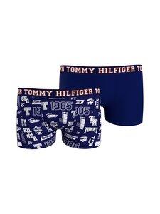 Tommy Hilfiger - Trunk Print -bokserit 2-pack - 0SQ YALE NAVY/ VARSITY LOGO | Stockmann