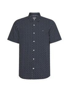 Calvin Klein Menswear - Slim Fit Micro Paisley Print -kauluspaita - 0WT CALVIN NAVY/BRIGHT WHITE | Stockmann