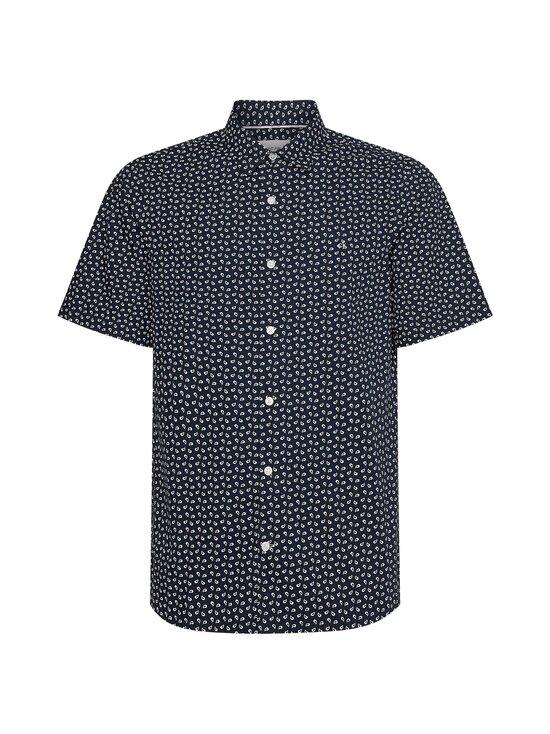 Calvin Klein Menswear - Slim Fit Micro Paisley Print -kauluspaita - 0WT CALVIN NAVY/BRIGHT WHITE   Stockmann - photo 1