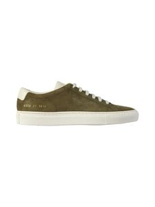 COMMON PROJECTS - Achilles Suede Contrast -nahkatennarit - 1010 OLIVE | Stockmann