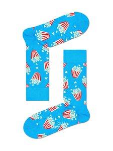 Happy Socks - Popcorn-sukat - 6300-BLUE | Stockmann