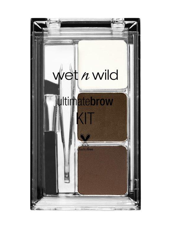 Wet n Wild - Ultimate Brow Kit -kulmaväripaletti - SOFT BROWN | Stockmann - photo 1