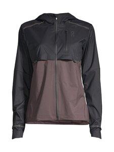 ON - Weather Jacket -juoksutakki - BLACK PEPPLE | Stockmann
