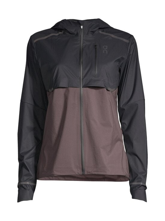 ON - Weather Jacket -juoksutakki - BLACK PEPPLE | Stockmann - photo 1