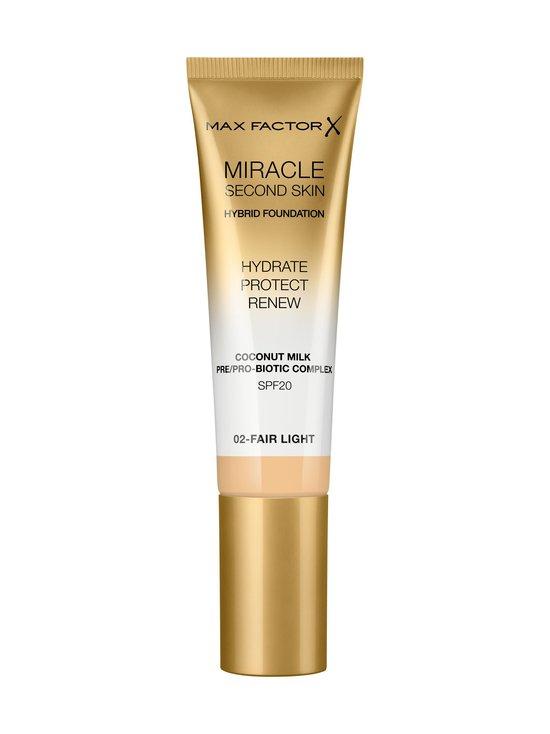 Max Factor - Miracle Second Skin Foundation -meikkivoide 30 ml - 02 FAIR LIGHT | Stockmann - photo 1