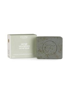 Flow Cosmetics - Hemp Shampoo Soap Bar - Balancing for Dandruff and Scalp Problems -hiussaippua120 g | Stockmann
