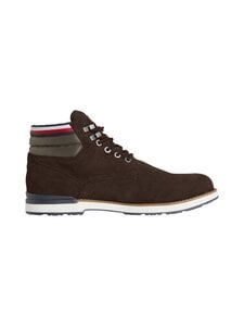 Tommy Hilfiger - Outdoor Suede -nahkasaappaat - GT6 COCOA   Stockmann