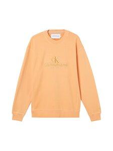 Calvin Klein Jeans - Embroidery-paita - SFX CRUSHED ORANGE   Stockmann