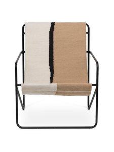Ferm Living - Desert-tuoli - BLACK/SOIL | Stockmann