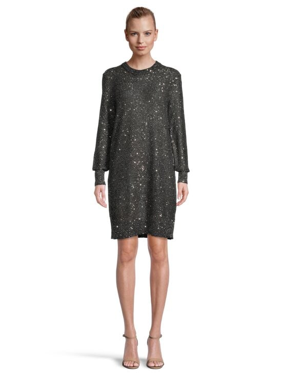 Michael Michael Kors - Sequined Metallic Knit Dress -mekko - 040 SILVER | Stockmann - photo 2