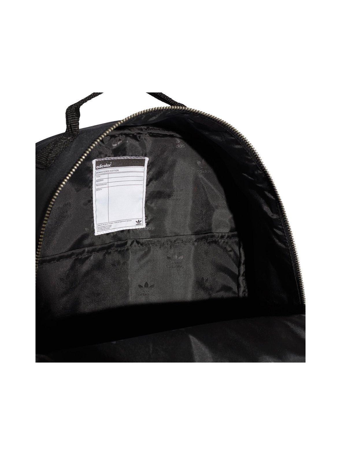 Black Adidas Originals Classic-reppu  215b56a56d