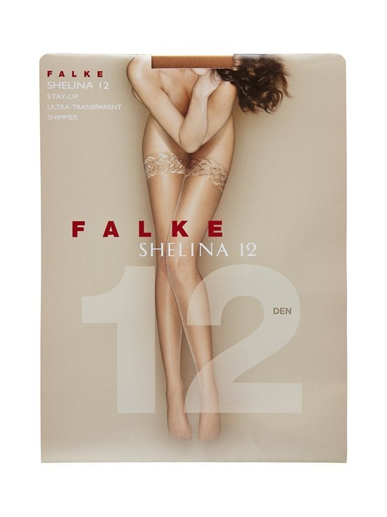 Falke - Shelina-stay-up-sukat 12 den - SUN (VAALEANRUSKEA) | Stockmann - photo 1