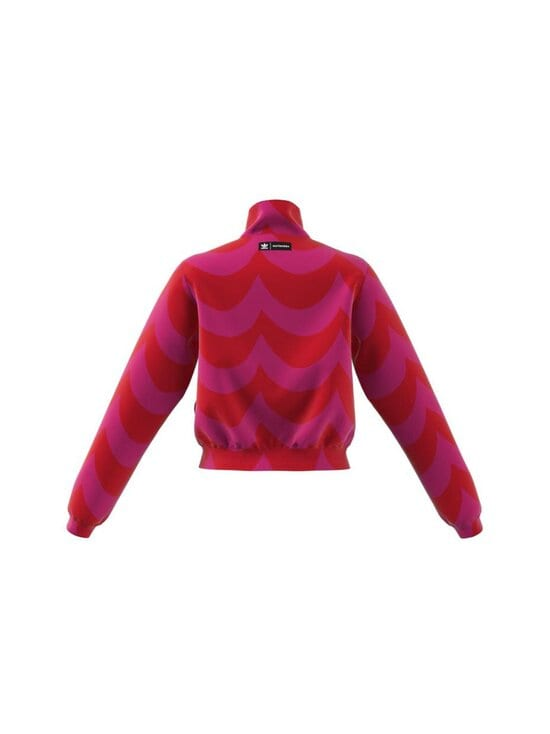 adidas x Marimekko - Track Top -takki - VIVRED/TEREMA VIVID RED/TEAM REAL MAGENTA | Stockmann - photo 3