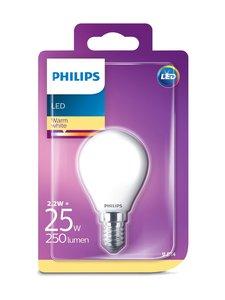 Philips - LEDClassic 2,2W (25W) P45 E14 -mainoslamppu - WHITE   Stockmann