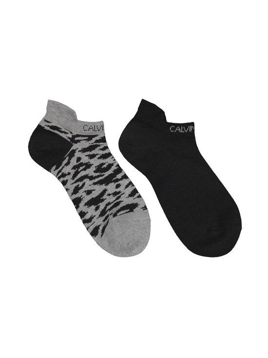 Calvin Klein Underwear - Sneaker Libby Leopard -sukat 2-pack - 99 GREY | Stockmann - photo 1