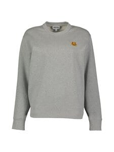 Kenzo - CLASSIC FIT TIGER CREST -collegepaita - 94 - LIGHT BRUSHED MOLLETON - PEARL GREY | Stockmann