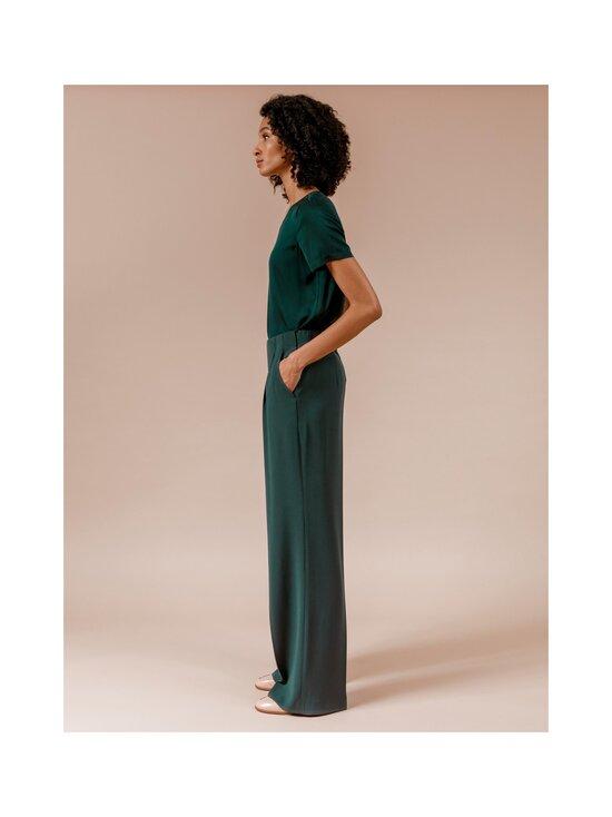Andiata - Kamille 3 -housut - 045 TEAL GREEN | Stockmann - photo 3