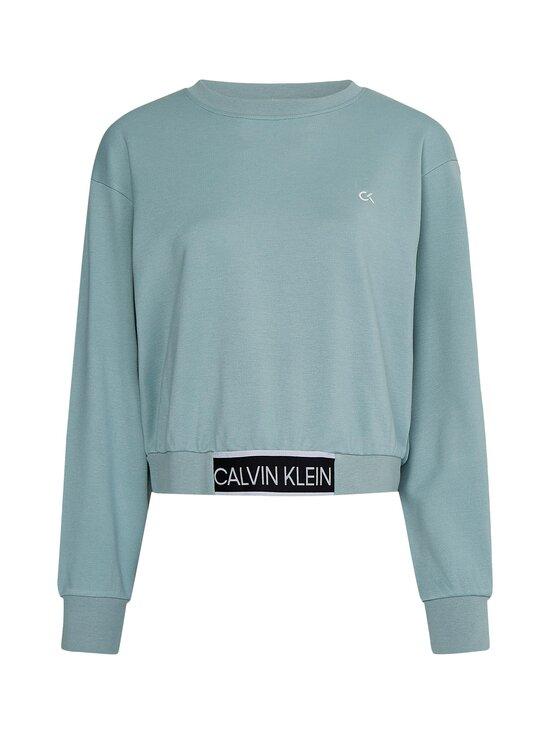 Calvin Klein Performance - Cropped Pullover -collegepaita - GREEN | Stockmann - photo 1