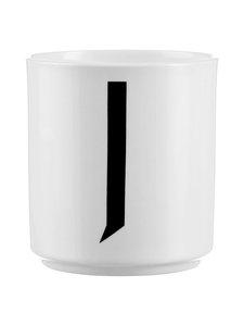 Design Letters - Kirjainmuki, J - VALKOINEN/MUSTA | Stockmann
