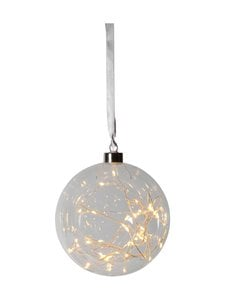 Star - Hanging Glass Bauble Glow -koristevalo 15 x 15 x 16 cm - null | Stockmann