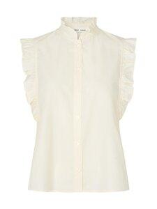 Samsoe & Samsoe - Marthy Shirt -toppi - ANTIGUE WHITE | Stockmann