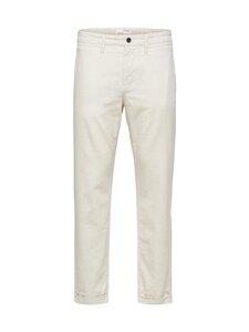 Selected - SlhSlimComfort-Barry-housut - BONE WHITE | Stockmann