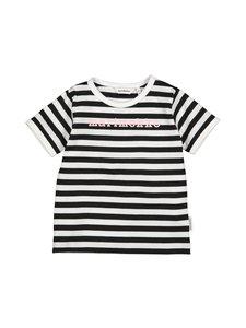 Marimekko - Leuto Tasaraita 1 -paita - 068 BLACK, WHITE, LIGHT PINK | Stockmann