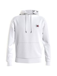 Tommy Hilfiger - CIRCLE CHEST CORP HOODY -collegehuppari - YBR WHITE | Stockmann