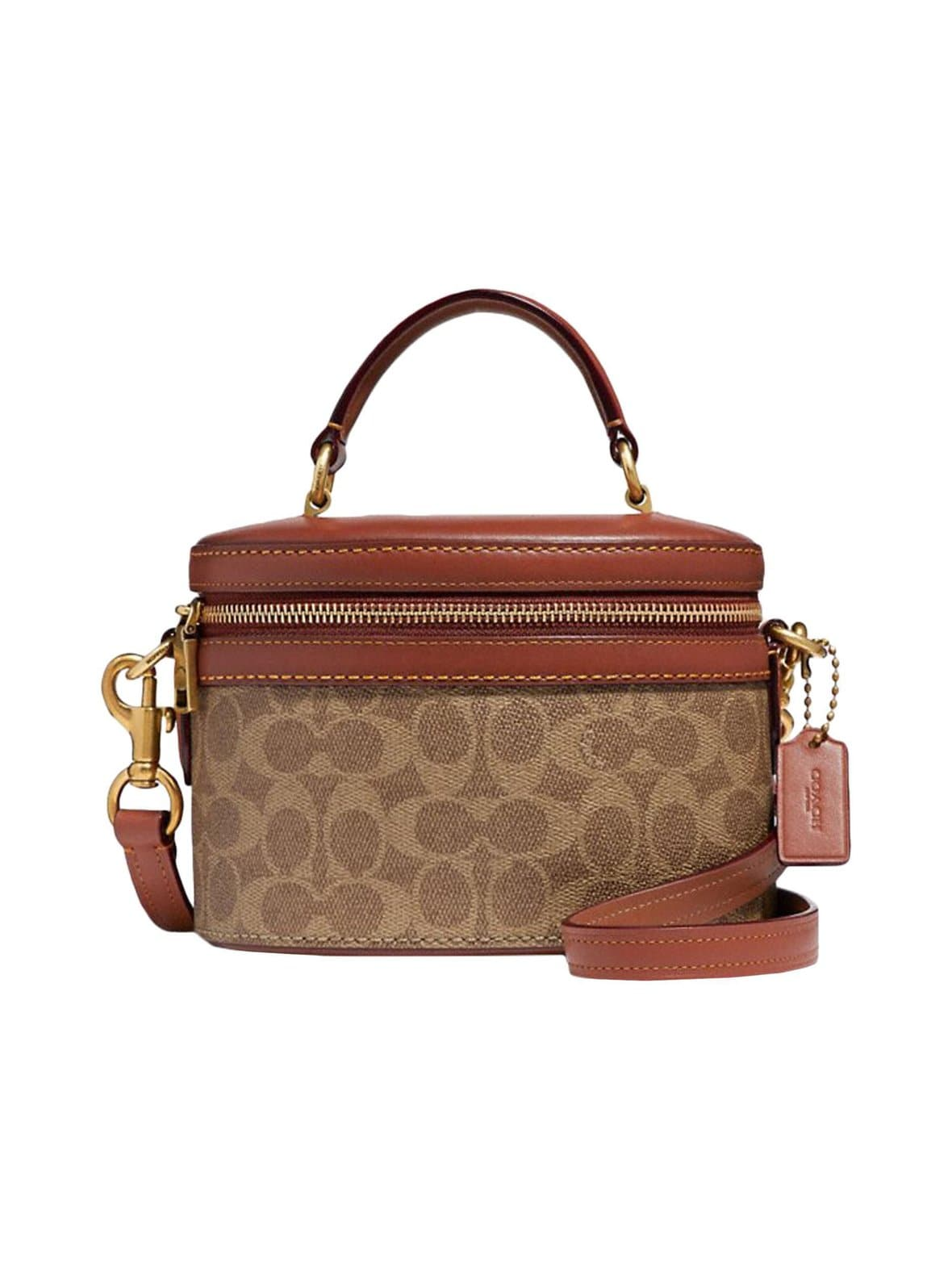 Coach – Coated Canvas Signature Trail Bag -laukku