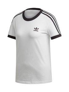 adidas Originals - 3 STR Tee -paita - WHITE/BLACK | Stockmann
