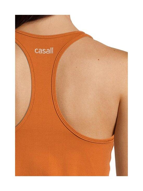 Casall - Essential Rib Racerback -toppi - 175 HAZEL BROWN   Stockmann - photo 5