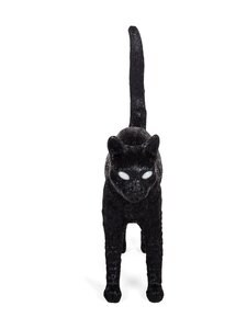 Seletti - Jobby the Cat Black -valaisin - MUSTA | Stockmann