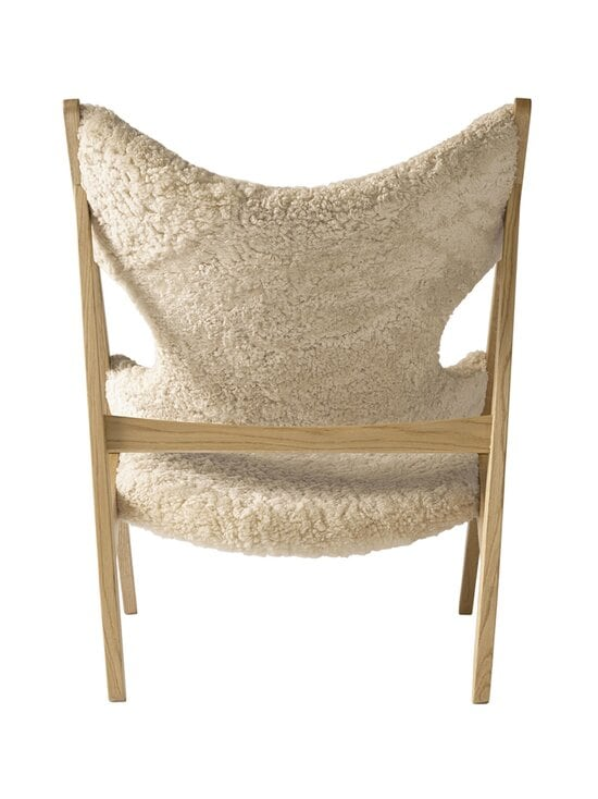 Menu - Knitting Lounge Chair -tuoli - NATURAL OAK, WHITE | Stockmann - photo 2