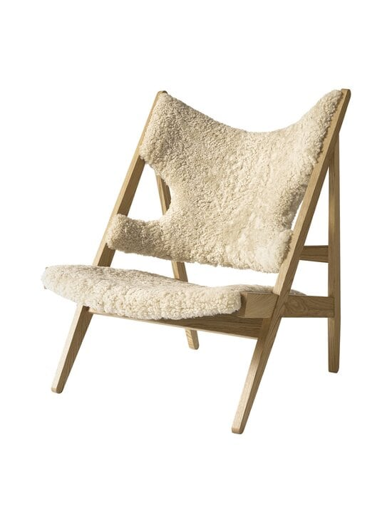 Menu - Knitting Lounge Chair -tuoli - NATURAL OAK, WHITE | Stockmann - photo 3