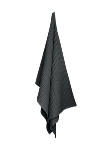 The Organic Company - Big Waffle Towel and Blanket -pyyhe 100 x 150 cm - DARK GREY (TUMMANHARMAA) | Stockmann