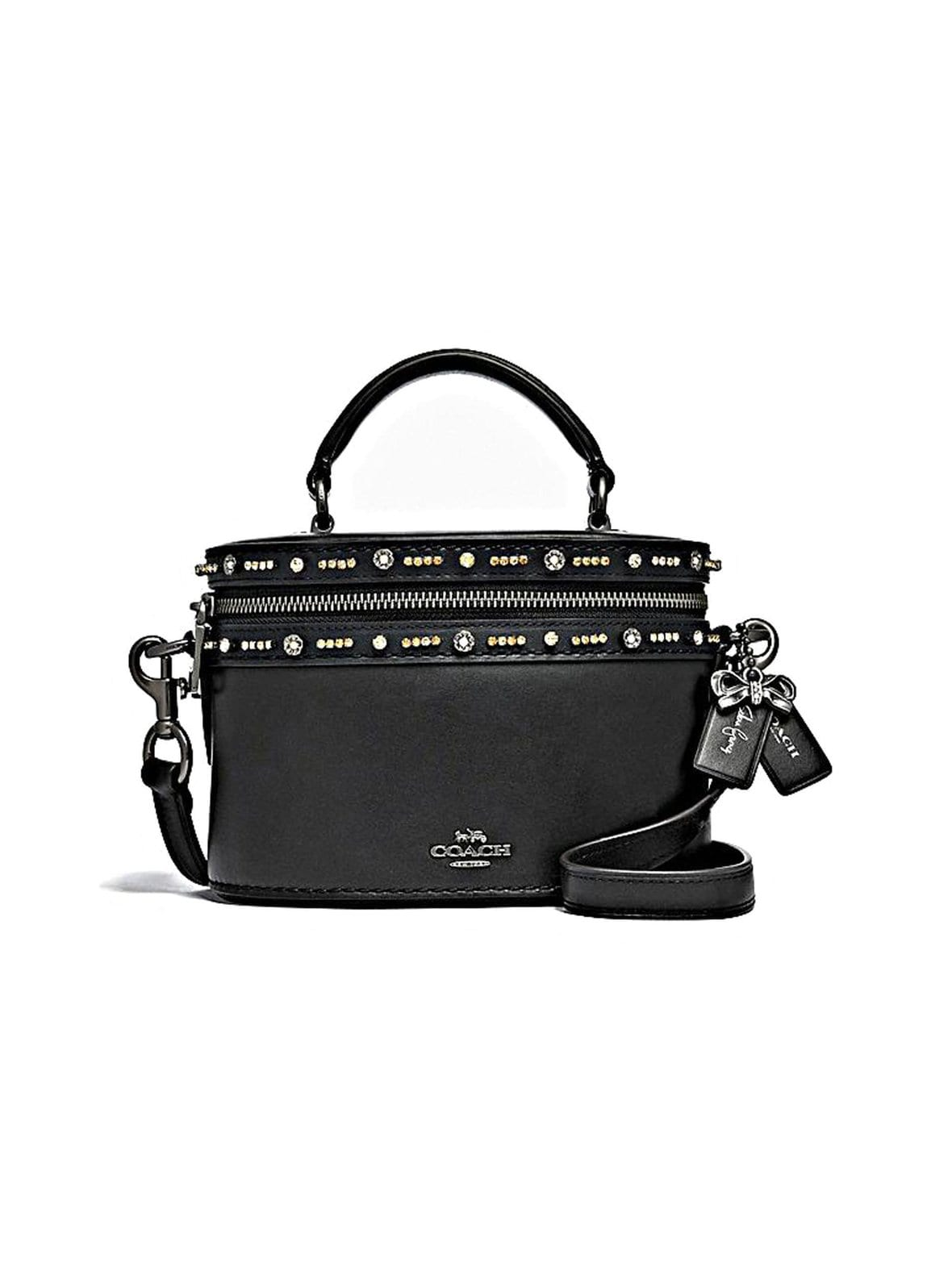 Coach – Selena Trail Bag With Crystal Embellishment -nahkalaukku