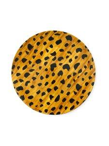 Fabienne Chapot - Breakfast Plate Cheetah Spots -lautanen 21,5 cm - BROWN | Stockmann