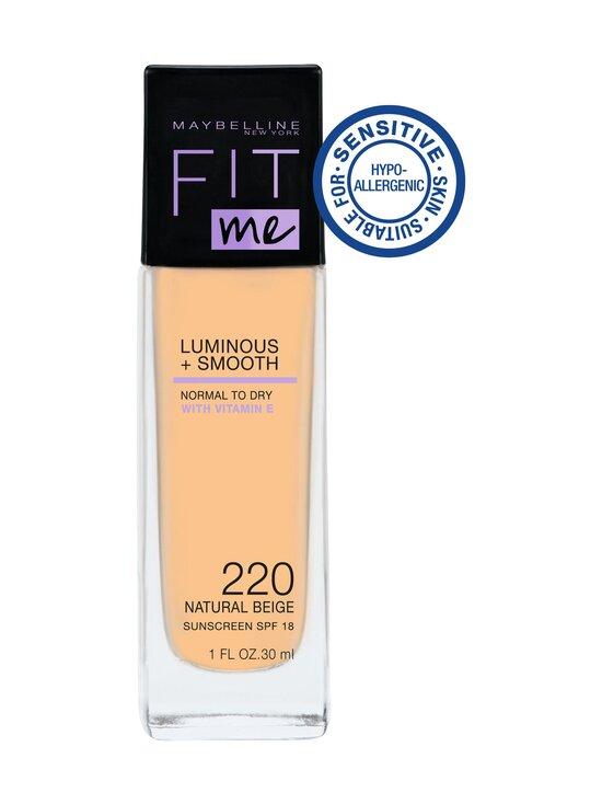Maybelline - Fit Me Luminous+Smooth -meikkkivoide 30 ml - 220 | Stockmann - photo 1
