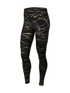 Nike - Icon Clash Fast Tight -treenitrikoot - 010 BLACK/METALLIC GOLD | Stockmann