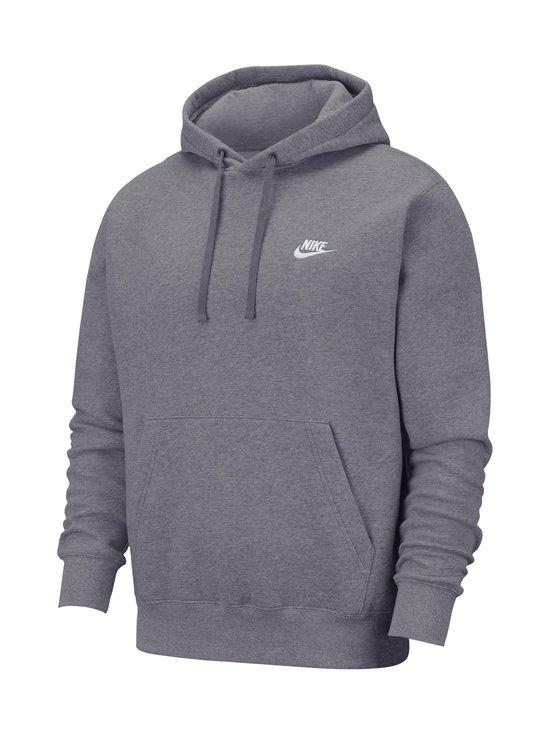 Nike - Sportswear Club Fleece -huppari - 071 CHARCOAL HEATHR/ANTHRACITE/WHITE   Stockmann - photo 1
