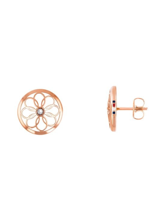 Tommy Hilfiger - Flower Stud -korvakorut - RUUSUKULTA | Stockmann - photo 1