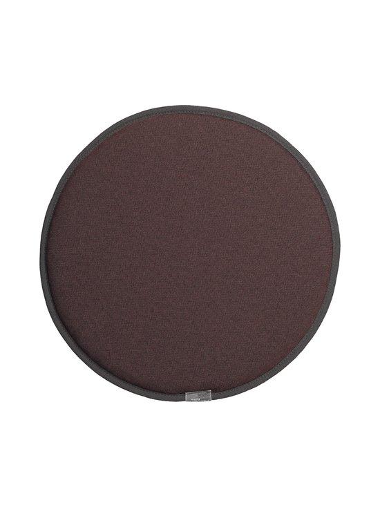 Vitra - Seat Dot -istuintyyny ø 38 cm - MARRON/NERO | Stockmann - photo 1