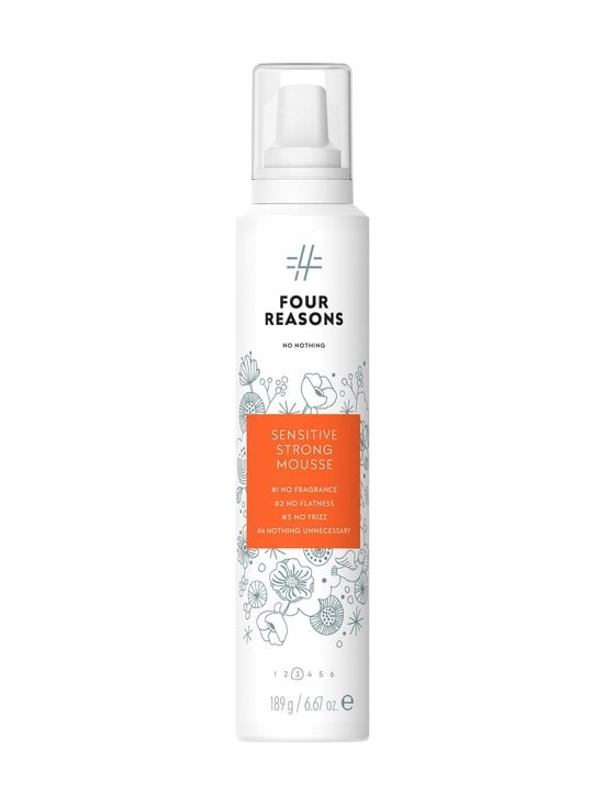 Four Reasons - No Nothing Sensitive Strong Mousse -muotovaahto 200 ml - NOCOL | Stockmann - photo 1
