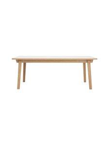 Normann Copenhagen - Slice-pöytä 74 x 200 x 90 cm - OAK   Stockmann