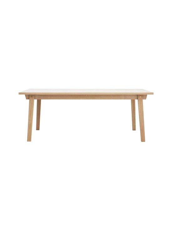 Normann Copenhagen - Slice-pöytä 74 x 200 x 90 cm - OAK | Stockmann - photo 1