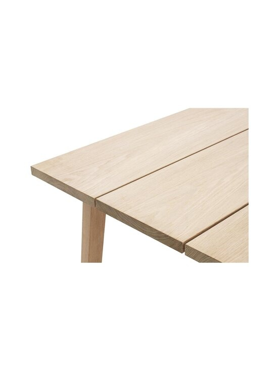 Normann Copenhagen - Slice-pöytä 74 x 200 x 90 cm - OAK | Stockmann - photo 2