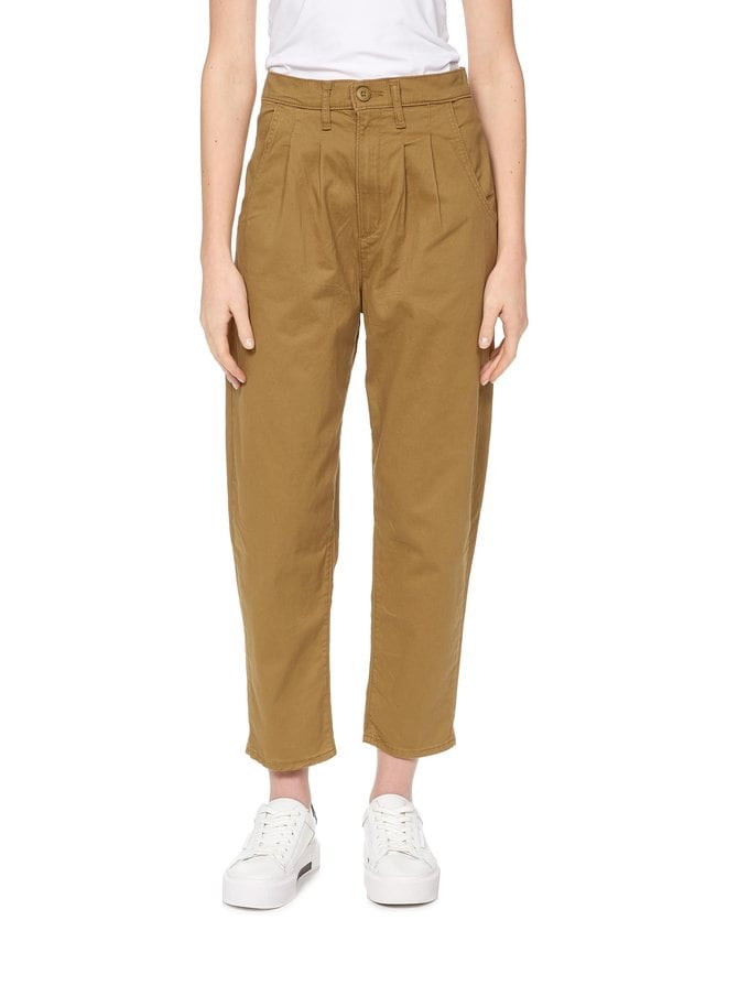 Pleated Balloon Pants -housut