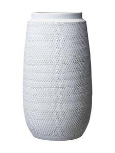 Wikholm Form - Catrina-maljakko 22 x 40 cm - WHITE MELANGE | Stockmann
