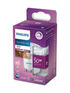 Philips - LED Spot 50W GU10 Dimmable 3000K -spottilamppu - WHITE | Stockmann